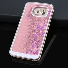 Dynamic Liquid Glitter Sand Quicksand Star Case For Samsung Galaxy S6 S7