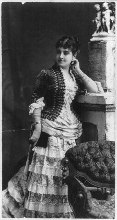 Adelina Patti    Circa 1870- unknown photographer    Probably the greatest soprano of the 19th Century, with the possible exception of Jenny Lind. Description from pinterest.com. I searched for this on bing.com/images
