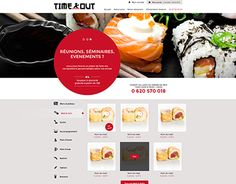 "Check out new work on my @Behance portfolio: ""Webdesign - Sushi restaurant"" http://on.be.net/1JkSSCm"