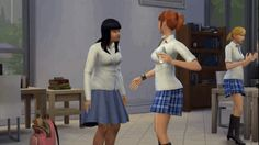 """14 Daily Interactions We Wish Were Like """"The Sims"""" 8. Having a relationship meter.""""Oh, I can see by this large red bar that Jessica straight-up hates me. Maybe I won't go offer her a back rub? No, no. I think I'll pass."""""""