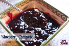 Blueberry Compote by JavaCupcake. Quick and easy and oh, so good! Made it today for waffles.