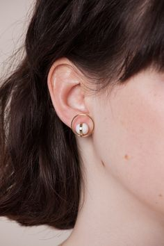 Mini balloon circun. earrings | Andresgallardo