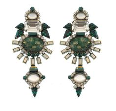 Elizabeth Cole Henning Earrings  $313  www.HAUTEheadquarters.com