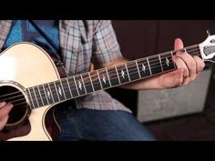 """How to play """"Eight Days a Week"""" by The Beatles On Guitar - YouTube"""
