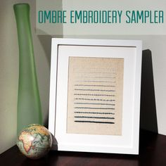 Ombre Sampler Tutorial by needle