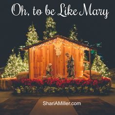 Oh, to be Like Mary