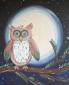 Night Owl www.thepaintbar.com