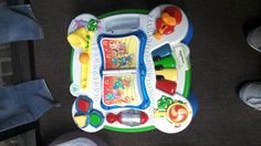 Infant activity play table