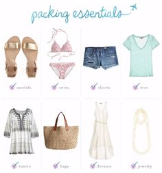 Making your weekend trip a breeze : #CalypsoStyle packing list!