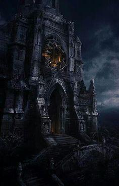 Gothic castle.