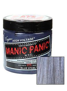 Manic Panic Blue Steel Classic Cream Hair Dye,                                                                                                                                                                                 More