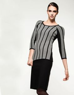 This is sleek, cozy and cool! Fall 14, Cozy, Blouse, Long Sleeve, Sleeves, Sweaters, Collection, Women, Style