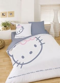 30 Super Cute Hello Kitty Bedding Set Ideas For Kids