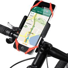 AVANTEK Universal Bike Mount, Motorcycle, Handlebar, Roll Bar Mount Bicycle Holder for Cell Phones