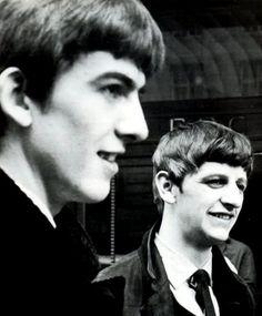 George and Ringo - The Beatles Photo (17323851) - Fanpop
