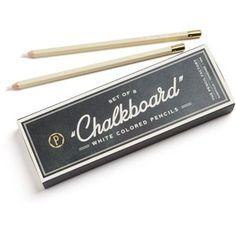 Hester and Cook Chalkboard Pencil Set