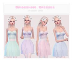 Sims 4 CC's - The Best: Dress by Simplystefi