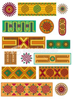 View top-quality illustrations of Mexican Patterns. Find premium, high-resolution illustrative art at Getty Images. Mexican Folk Art, Mexican Style, Pattern Art, Pattern Design, Border Pattern, Arte Latina, Mexican Pattern, Latino Art, Tribal Patterns