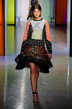 peter pilotto spring 2014 runway images | Peter Pilotto Spring 2014 - theFashionSpot