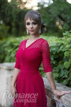 Date Ukraine single girl Mariya: green eyes, dark brown hair, 19 years old ID176983