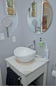 Stewart Lofts, Toronto Loft Bathroom, Bathrooms, Lofts, Toronto, Vanity, Loft Room, Dressing Tables, Loft, Powder Room
