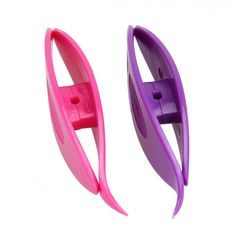 awesome 2pcs Plastic Tatting Shuttle Tool for Hand Lace Making Craft Tatting Sewing Accessories