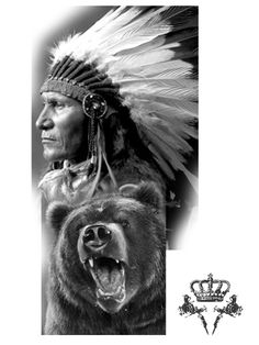 Red Indian Tattoo, Indian Chief Tattoo, Indian Tattoo Design, Native American Tattoos, Native Tattoos, Native American Wisdom, American Symbols, Tattoo Indio, Inca Tattoo