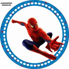 Resultado de imagem para free printable cupcake wrappers and toppers with spiderman Spiderman Bag, Spiderman Theme, Fête Spider Man, Spaider Man, Pawer Rangers, Birthday Cartoon, Board For Kids, Baby Scrapbook, Holidays And Events