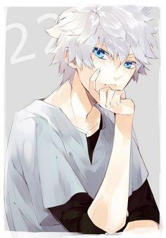 when did he grow up being this... hot ? o///o Killua Zoldyck - Hunter X Hunter [ UpUrGame.com ] #anime #game