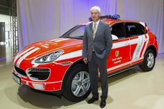 Porsche Leipzig plant announced earlier this week that they have manufactured their 500,000th vehicle. This 500,000th car is a special vehicle, and considering the achievement, this special vehicle is transformed into a Leipzig fire brigade vehicle with the assistance of Porsche apprentices. This 500,oooth car is a Porsche Cayenne SUV.