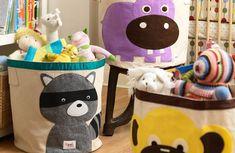 cestos de tela para niños