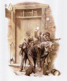 "Carter Goodrich Illustrations for ""A Christmas Carol"""