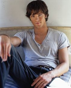 I had a total crush on Jared Padalecki in Gilmore Girls; then my sister got me into Supernatural: Horror, Myths, Blood and Heart Throbs- what more do you need? It did take me a while to stop calling him Dean lol