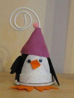 Pingouin porte-photo...