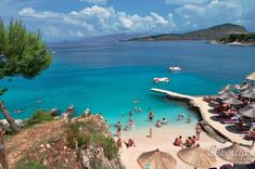 The most 3 beautiful beaches in Ksamil - HikerTips Beach Fun, Beautiful Beaches, Coast, The Incredibles, Amazing, Water, Outdoor, Gripe Water, Outdoors