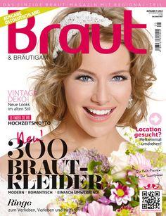 Ausgabe 5-2013 #Brautmagazin #Hochzeitsmagazin #Inspiration #Braut&Bräutigam #Brautmode #Hochzeitsmode #Brautkleider