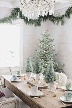 Weihnachten Deko Christmas holiday decoration Tannenbaum grün snow