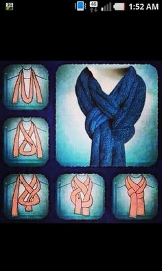 witch's knot scarf