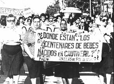 History of Grandmothers Abuelas de Plaza de Mayo, protests in Argentina over missing and abduction children