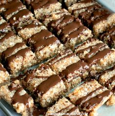 Grain Crazy: Healthy Somas Cookie Bars. So yummy.