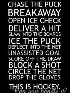 i play hockey. I am a girl and i am gonna play varsity hockey next year grade).i am doing a bantam camp and ive played peewees. I want to play for the Minnesota Gophers. i hockey Rink Hockey, Hockey Room, Flyers Hockey, Hockey Memes, Hockey Quotes, Blackhawks Hockey, Chicago Blackhawks, Hockey Players, Funny Hockey