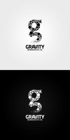 gravity Logo | #corporate #branding #creative #logo #personalized #identity #design #corporatedesign repinned by www.BlickeDeeler.de | Visit our website www.blickedeeler.de/leistungen/corporate-design/logo-gestaltung