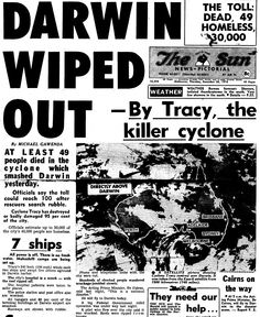 1974 Darwin Wiped Out