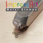ImpressArt Metal Stamps Flourish A