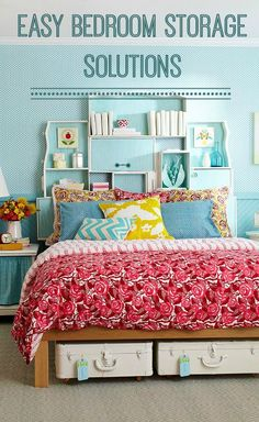 Easy Bedroom Storage Solutions - Love Chic Living