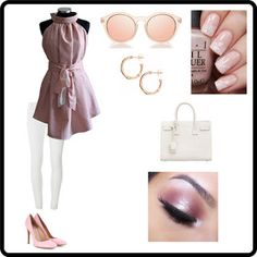 Clara 03: Blusa in saia di cotone a righine bianche e salmone scuro senza maniche, con fondo rotondo.