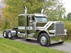 Show Trucks, Mack Trucks, Big Rig Trucks, Peterbilt 359, Peterbilt Trucks, Train Truck, Road Train, Model Truck Kits, Truck Quotes