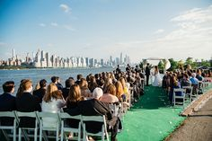 Rachel and Mark's big day celebrated at Waterside Restaurant and Catering in NJ with fabulous view to Manhattan skyline photographed by Jan Freire Wedding Venue Inspiration, Wedding Ideas, The Mark Nyc, Restaurant Wedding, Manhattan Skyline, Nyc Wedding Photographer, Best Wedding Venues, Big Day, Catering