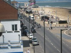 Redcar , June 27th We had Armed Forces Day, a fly past by an Avro Vulcan, Spitfire and our old friends the Bikers
