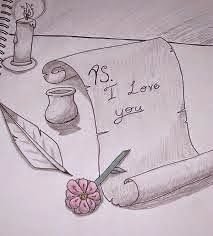 I love you drawings for her i love you drawings gallery love drawings for him step . i love you drawings Love Drawings For Him, Cute Drawings Of Love, Pencil Drawings Of Love, Drawings For Boyfriend, Sketches Of Love, Drawing Videos For Kids, Easy Drawings For Beginners, Easy Drawings For Kids, Pencil Art Love